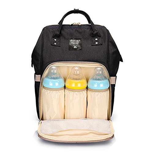 heyi diaper bag travel backpack large capacity tote shoulder nappy bag organizer for baby care. Black Bedroom Furniture Sets. Home Design Ideas
